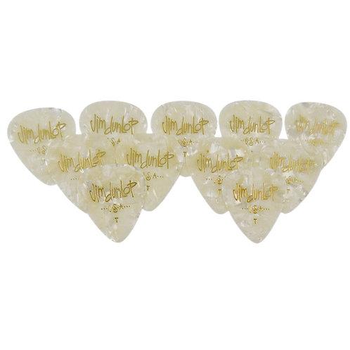 Dunlop 483R#04 White Perloid - Thin