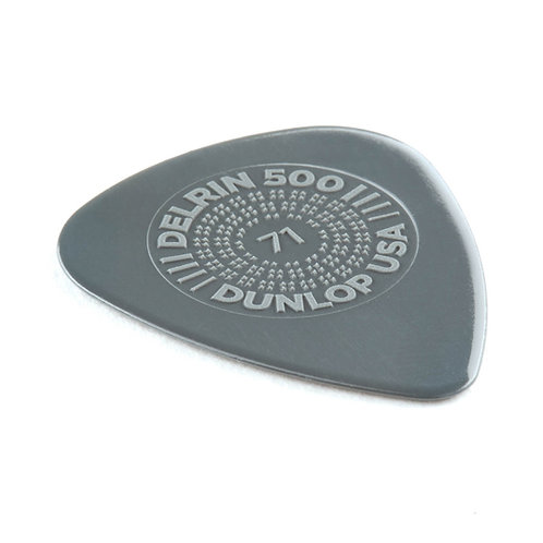 Dunlop 450P071 Prime Grip Delrin 500 .71 mm Player's Pack/12