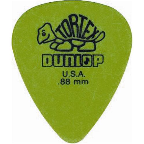 Dunlop 418P Tortex Standard Green .88