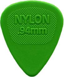 Dunlop 443R.94 Nylon Midi Green .94mm
