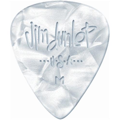 Dunlop 483R#04 White Perloid - Heavy