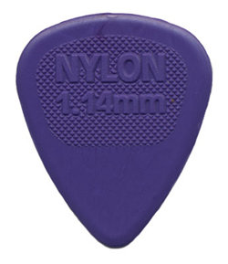 Dunlop 443R1.14 Nylon Midi Purple 1.14mm