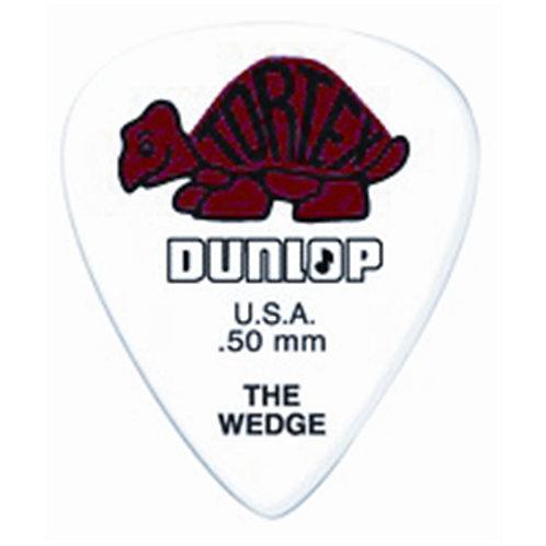 Dunlop 424P Tortex Wedge Red .50