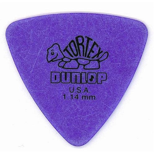 Dunlop 431R Tortex Triangle Purple 1.14