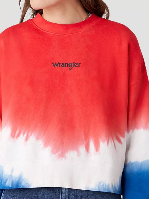 Wrangler cropped retro sweat
