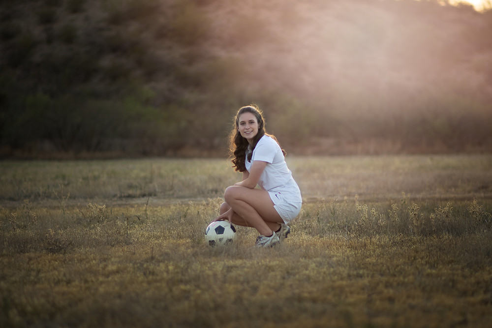 Varsity Soccer player