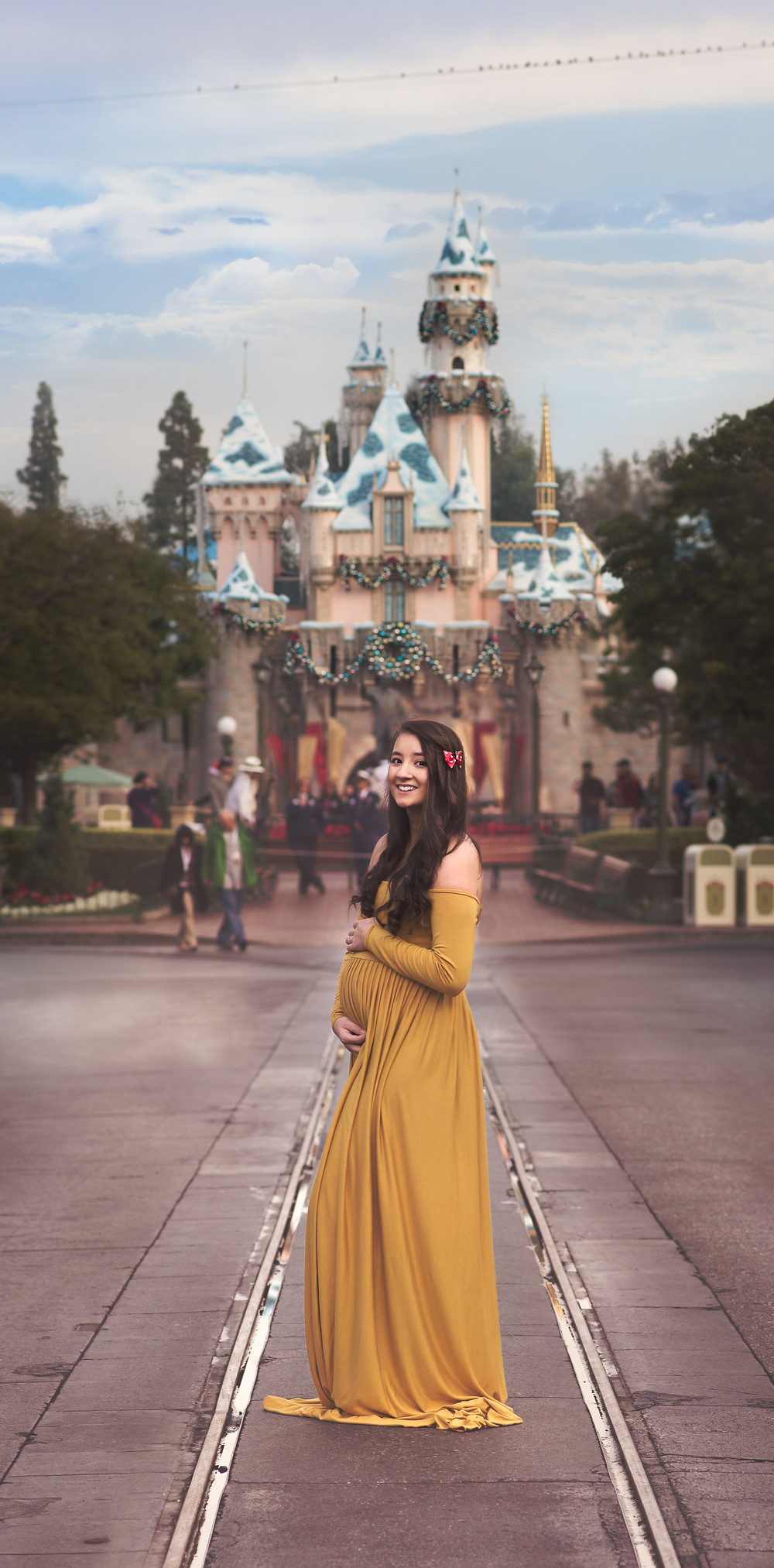 a princess and her castle!