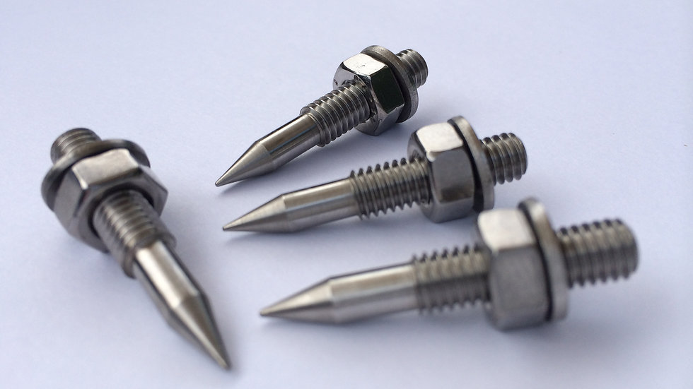 M6 Stainless Steel A4 Speaker Spikes (set of four)