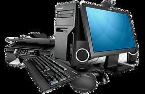 black-computer-desktop-set-with-printer-