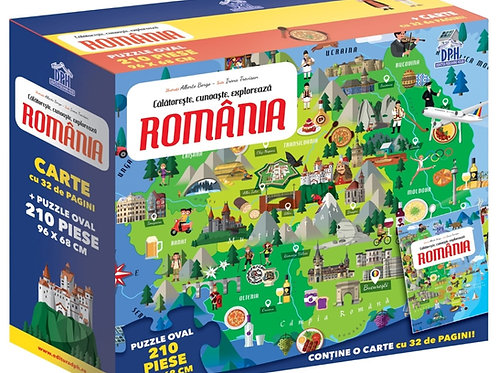 Calatoreste, invata, exploreaza- Romania- puzzle