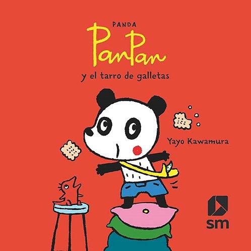 Panda Pan Pan  y el tarros de galletas