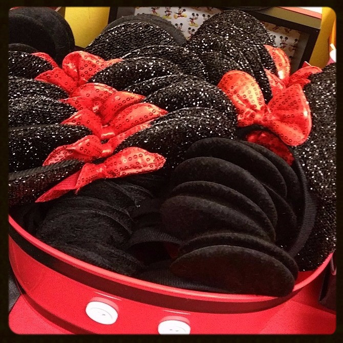 Mickey and Minnie Ear Headbands