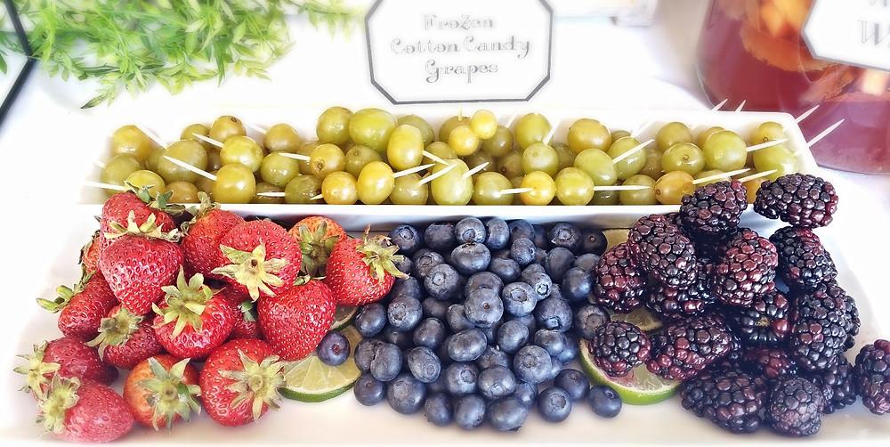 Sangria Bar Fruit Tray