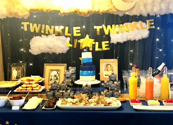 Twinkle in the Sweet Midnight Blue Bar