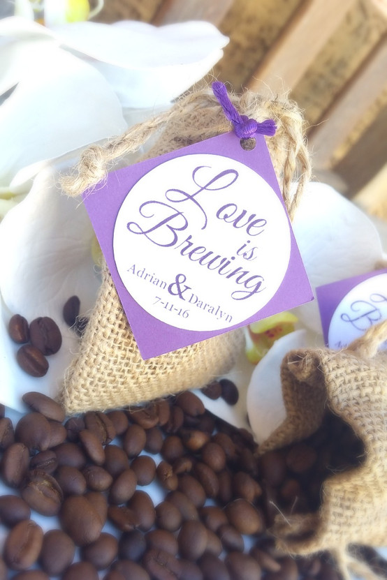 Love is Brewing Wedding Favors