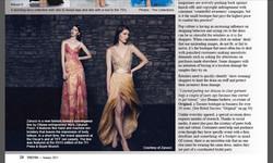 Trends Magazine - Article on Zarucci