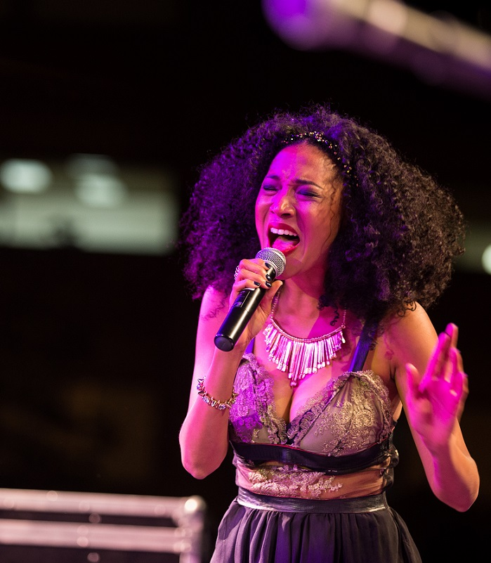 Singer Judith Hill