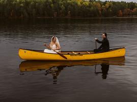 Romantic and Rustic Riverside Wedding