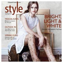 Style Magazine cover - Zarucci pant