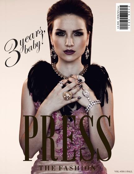PRESS Cover - Zarucci Gown