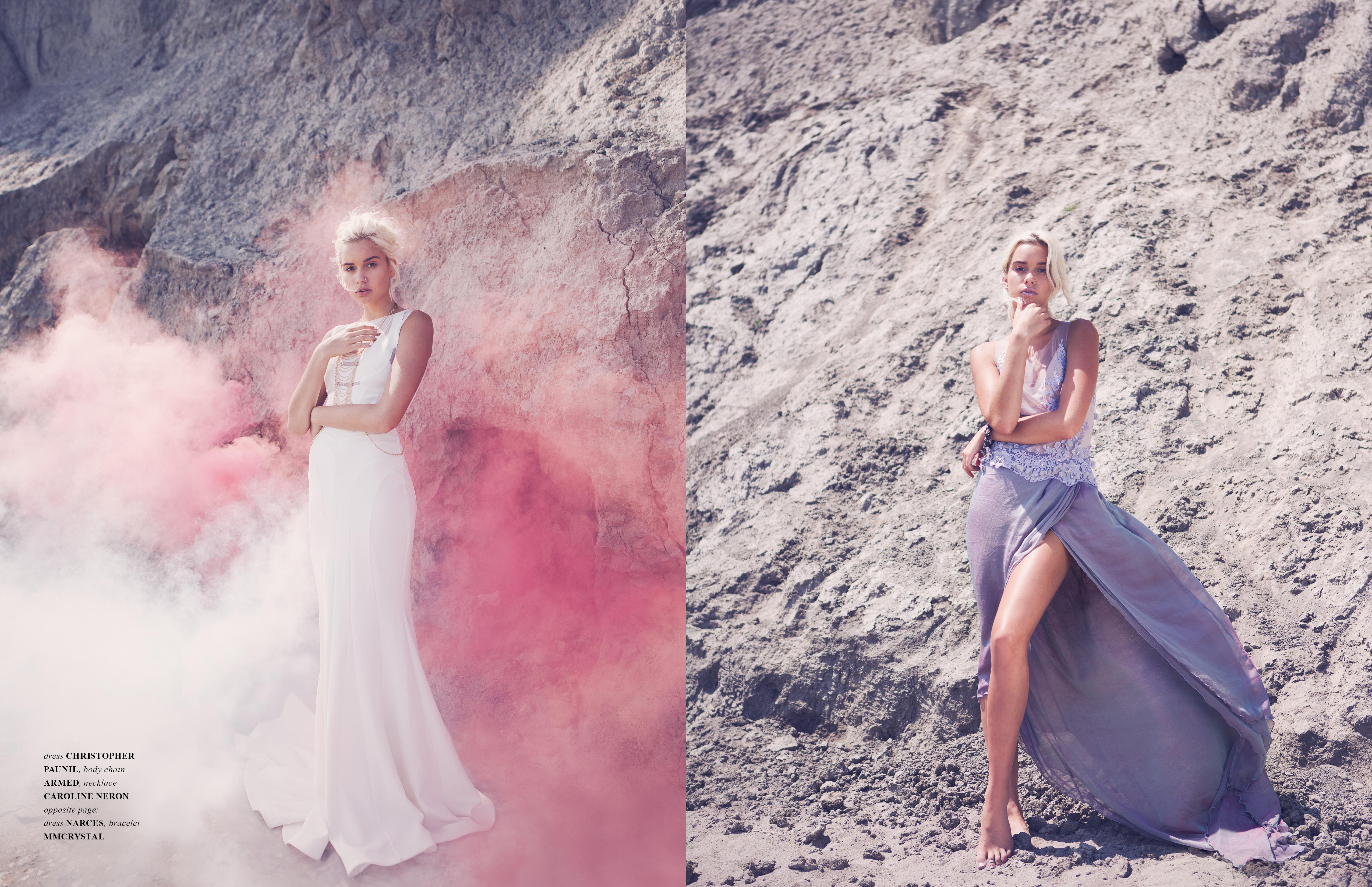 Jute magazine - Zarucci gown