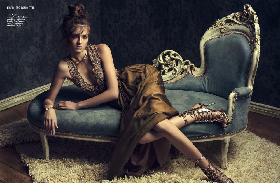 Filler Magazine - Zarucci Gown