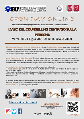Locandina Open Day Counselling 21 luglio2021.png
