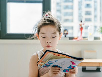 Help children love their reading even at home