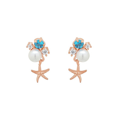 Stella Starfish Earrings
