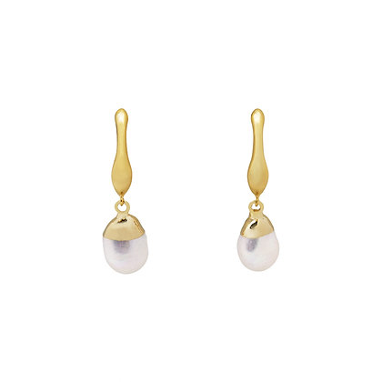 Dayla Baroque Pearl Drop Earrings