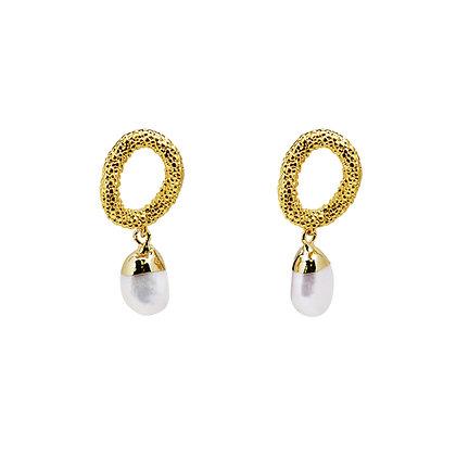 Sabrina Pearl Drop Earrings