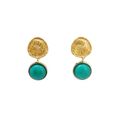 Kyla Stone Pendant Drop Earrings