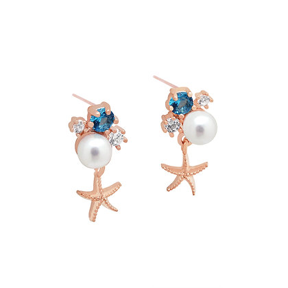 Stella Starfish Earrings