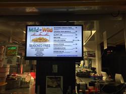 Our menu is digital.
