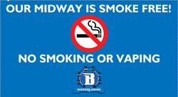 Smoke Free Midway Signs