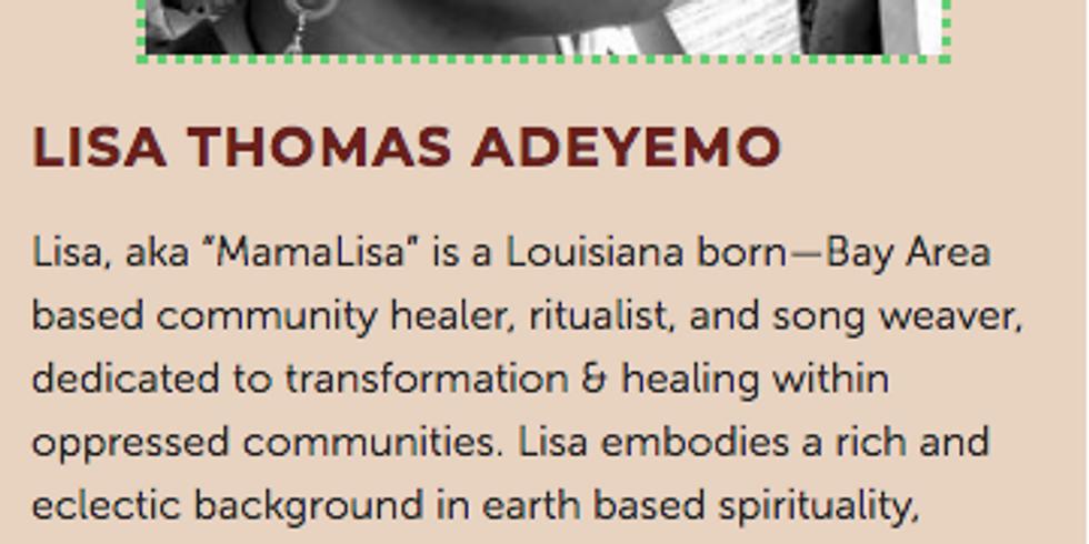 WOAD Healing Circle with guest, Lisa Thomas Adeyemo