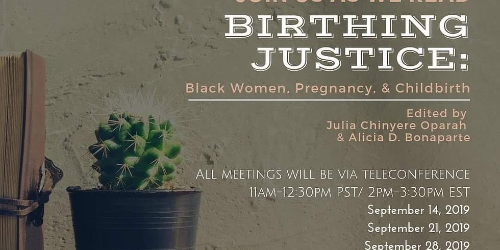 BOOK CLUB with Birth Bruja