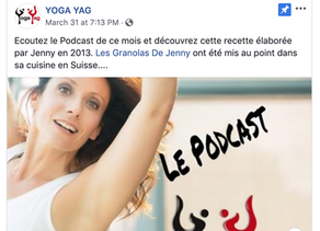 YogaYag Le Podcast - Les Granolas de Jenny (Français)