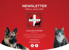 (Français) NEWSLETTER AUXAN, Edition 2, Jan 2020