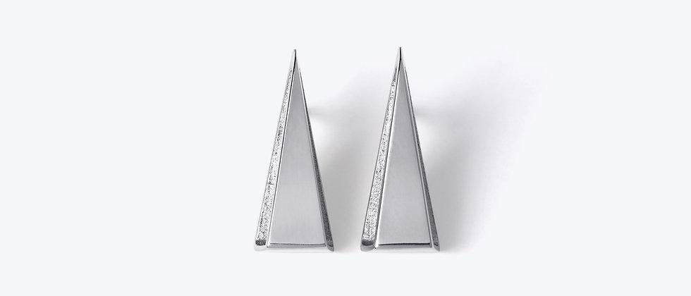 WEISHEIT STARK – Stříbrné náušnice