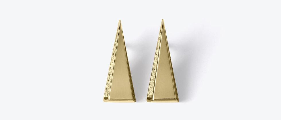 WEISHEIT STARK – Zlaté náušnice