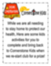 Kids Club Website Activities Week #1 A.j