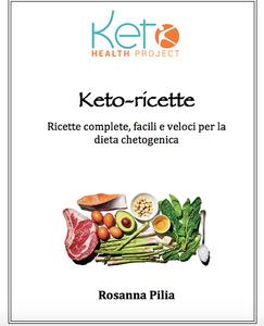 copertina nuovo libro Keto-Ricette di Rosanna Pilia