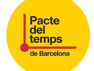 80 organitzacions més compromeses amb el Pacte del Temps de Barcelona