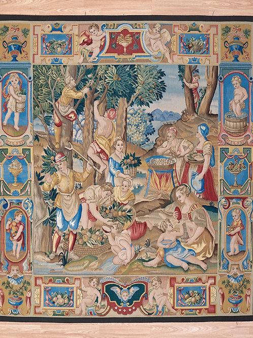 Tapestry Putti 236 x 207cm