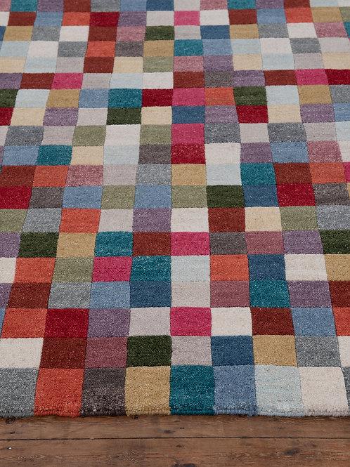 Colour Blanket Tibetan Wool 185 x 124cm