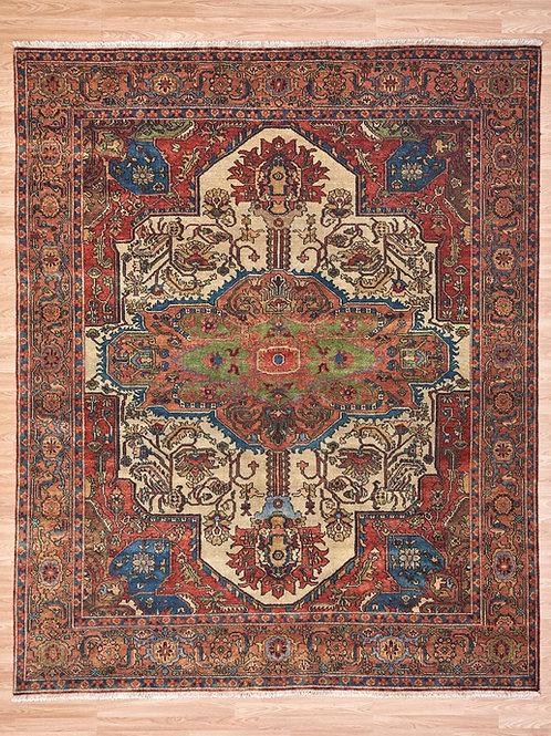 Serapi P4-C 303 x 246cm