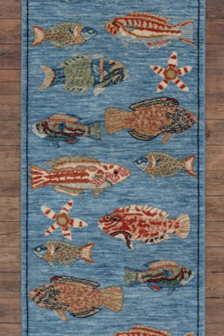 Fish Family 1699 190 x 65cm