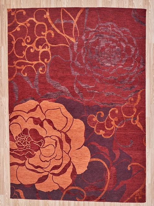 Boro Tea Rose 295 x 236cm