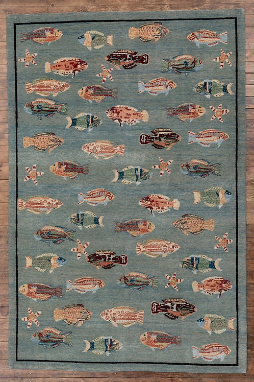 Fishes 278 x 184cm